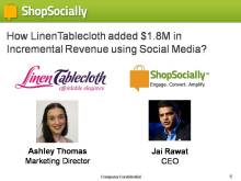LinenTablecloth Webinar - Wed, Aug 28, 2013 v5