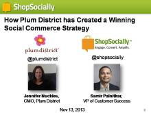 Plum District Webinar - Wed, Nov 13, 2013 - v4